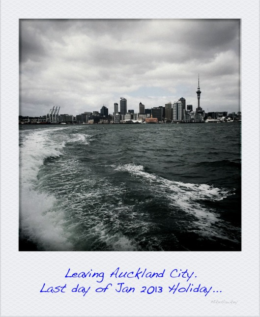 Leaving Auckland by Boat