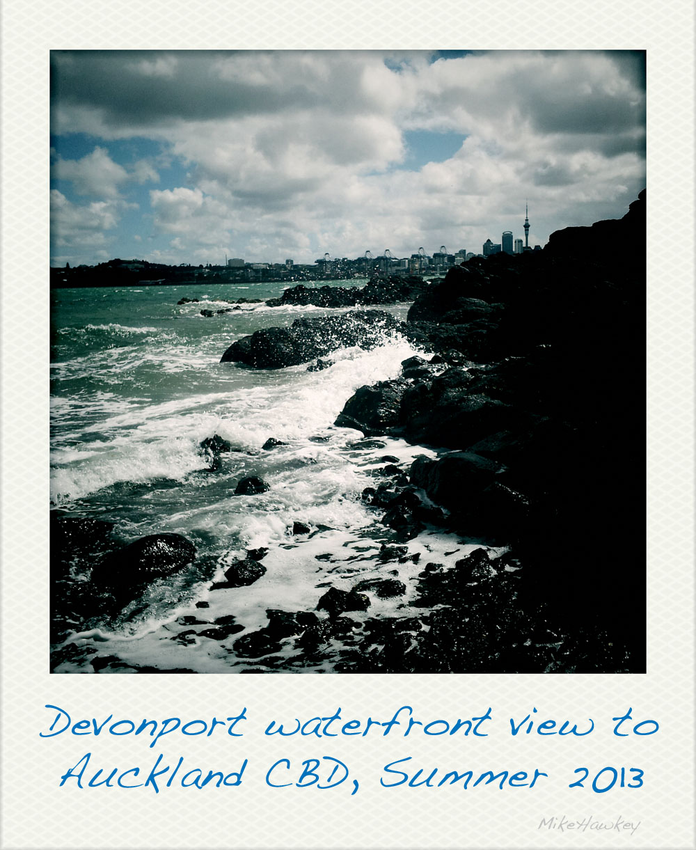 Waterfront polaroid