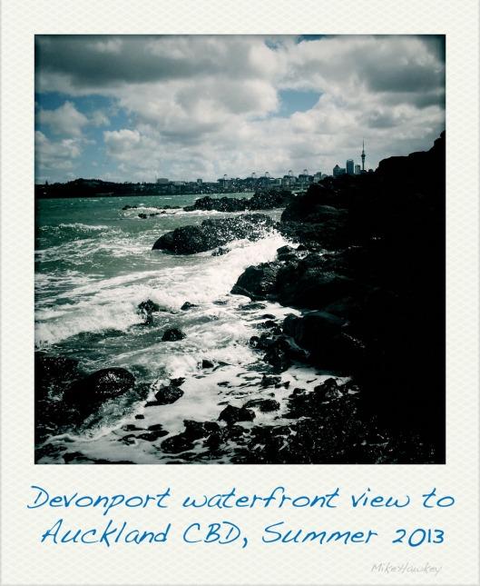 Waterfront polaroid