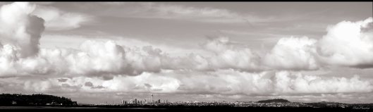 Auckland from afar