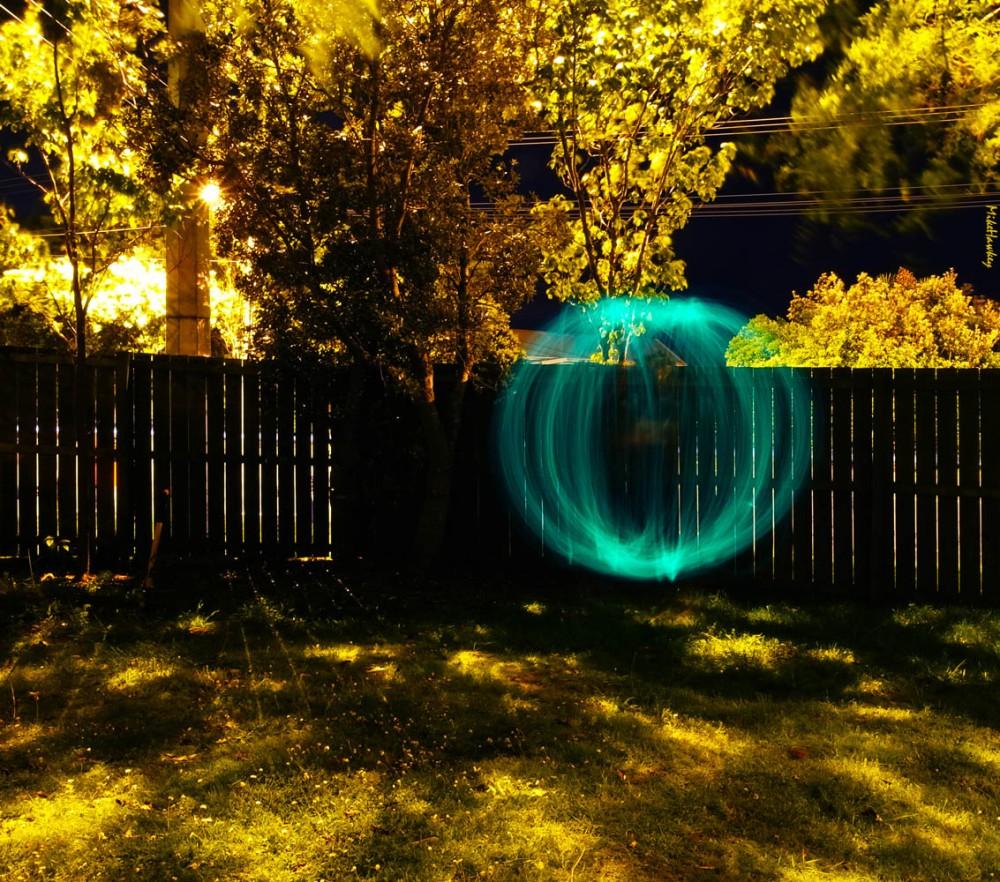 Orb on Lawn