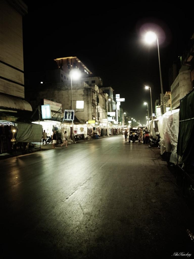 Chiang Mai Markets End