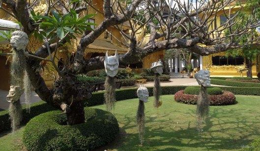 Outside white temple 3