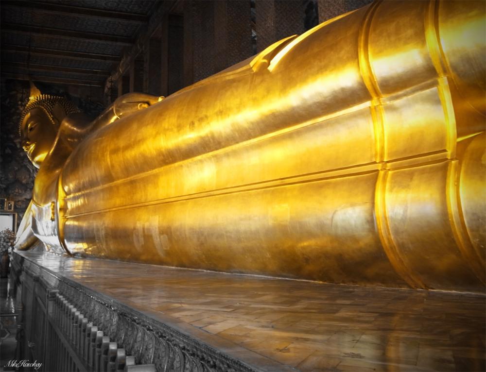 Reclining Budda 3