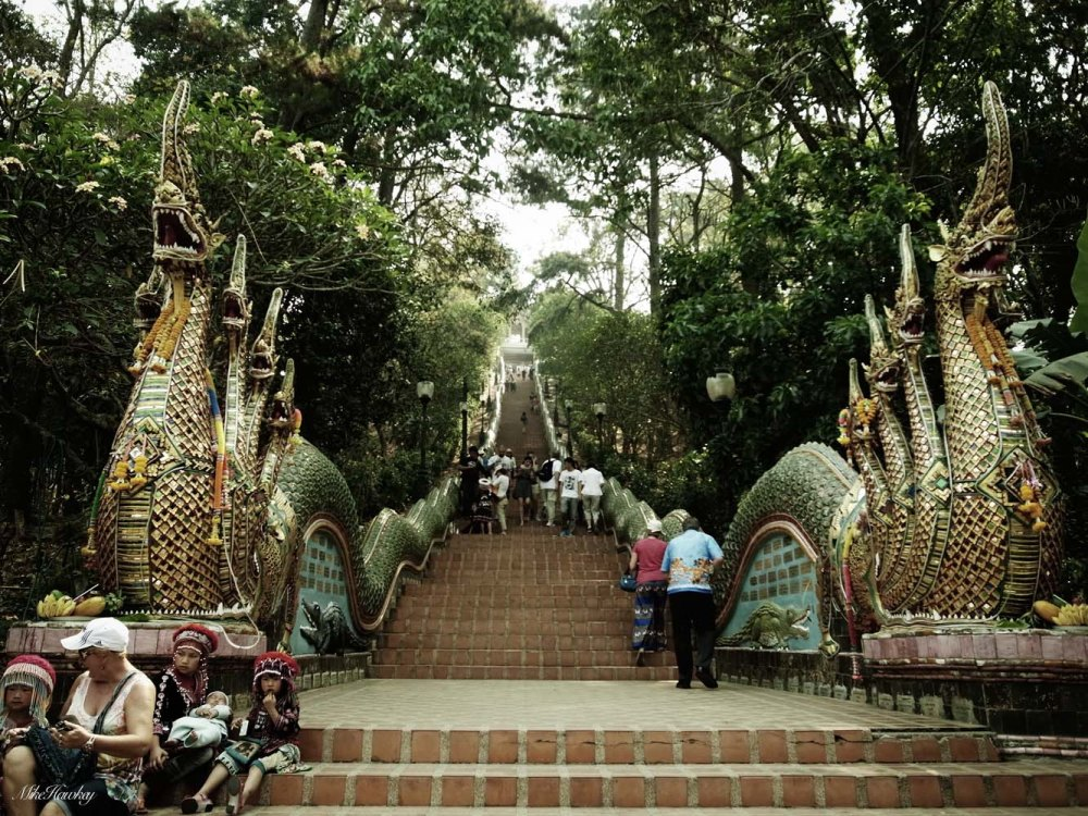 Stairs to the Mountian Temple