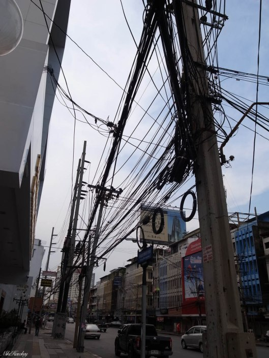 Wired poles